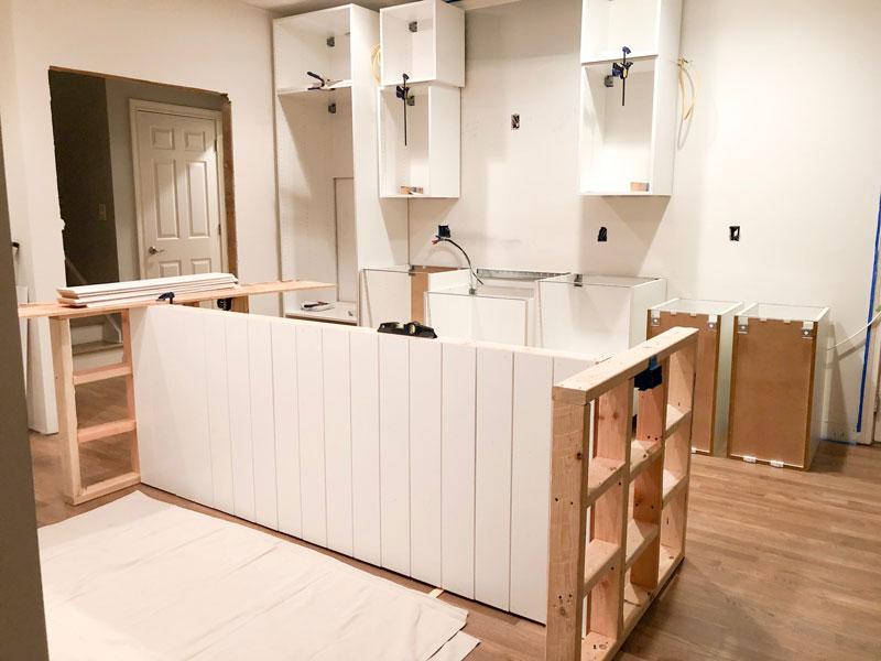 How to Create a Custom Ikea Kitchen Island - House with Home