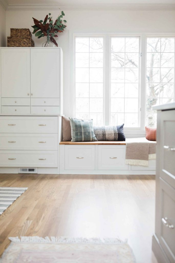 How To Build A Bench Seat From Ikea Cabinets House With Home