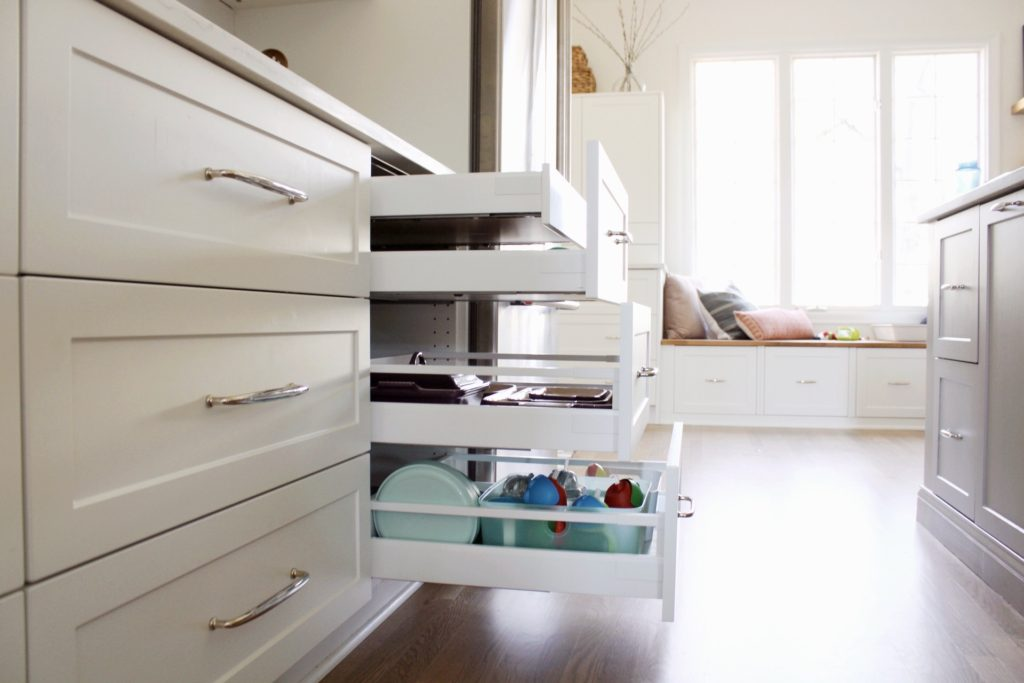 Ikea Kitchen Cabinet Sizes and Organization - House with Home